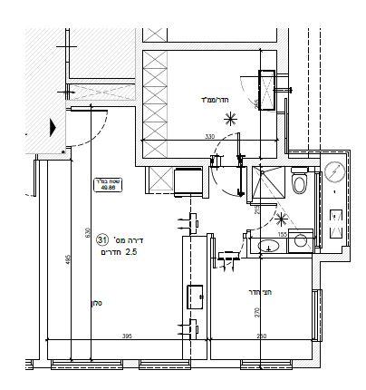שאנן 22 דירת 2.5 חדרים F
